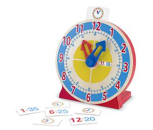Turn & Tell Wooden Clock