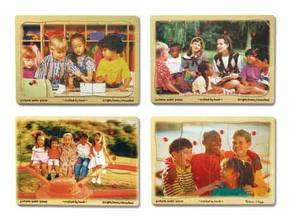 Diversity Awareness Peg Puzzle Set