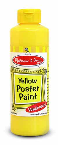 Yellow Poster Paint