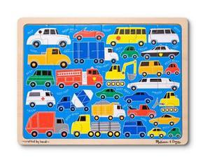 Beep Beep Wooden Jigsaw Puzzle - 24 Pieces