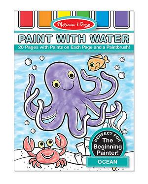 Ocean Paint with Water Kids' Art Pad