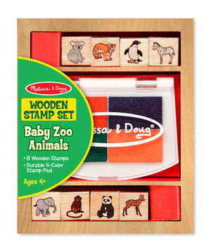 Baby Zoo Animal Stamp Set
