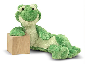 Longfellow Frog Stuffed Animal