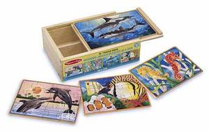 Sea Life Jigsaw Puzzles in a Box