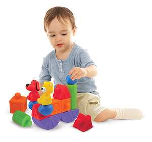 Pop Blocs Building Set - 16 pieces