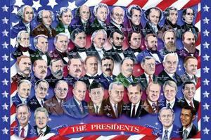 American Presidents Floor Puzzle - 100 pieces