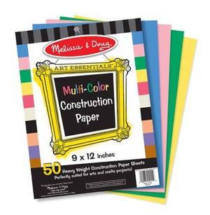 Multi-Color Construction Paper (9