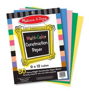 Multi-Color Construction Paper (9