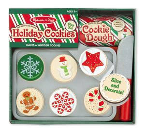 Holiday Cookies Wooden Play Food Set