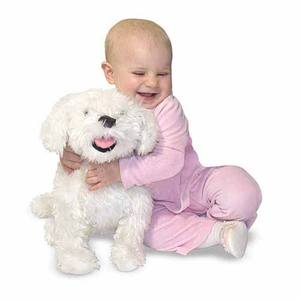 Bichon Frise Dog Giant Stuffed Animal