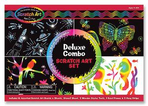 Scratch Art® Deluxe Combo Set