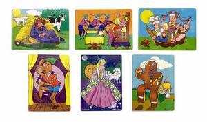 Fairy Tales & Nursery Rhymes Puzzle Set 2