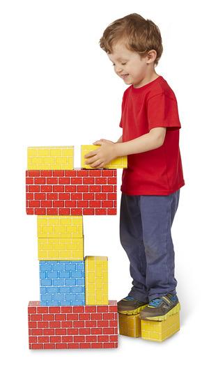 Jumbo Cardboard Blocks - 24 Pieces