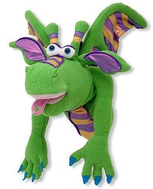 Smoulder the Dragon Puppet