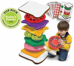 Sandwich Stacking Games