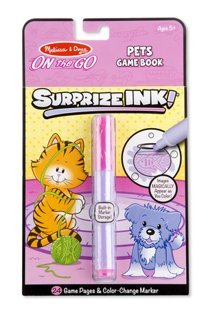 Surprize Ink! Pets - ON the GO Travel Activity Book