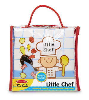 Soft Activity Book - Little Chef
