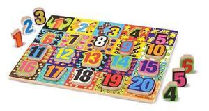 Jumbo Numbers Chunky Puzzle