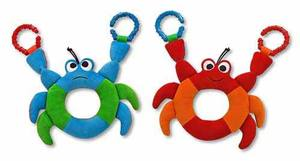 Linking Crab Easy-Grasp Baby Toy