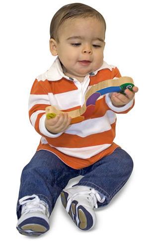 Caterpillar Grasping Baby Toy