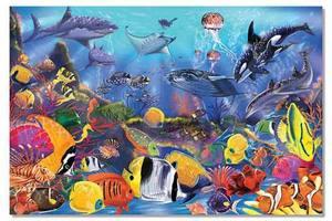 Underwater Floor Puzzle - 48 Pieces