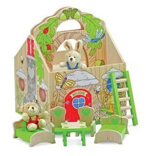 Fold & Go Woodland Treehouse