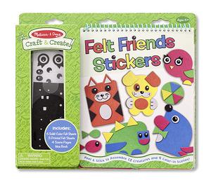 Craft & Create Felt Friends Stickers