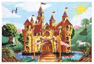 Fairy Tale Castle Floor Puzzle - 48 Pieces