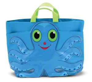 Flex Octopus Kids' Beach Tote Bag