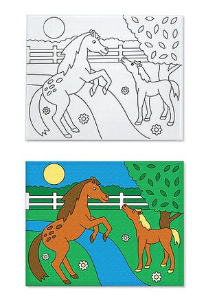 Canvas Creations - Horses