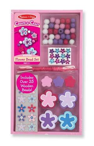 Decorate-your-own Flower Bead Set
