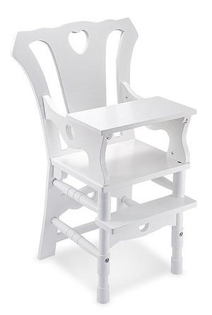 Wooden Doll High Chair