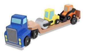 Low Loader Wooden Vehicles Play Set