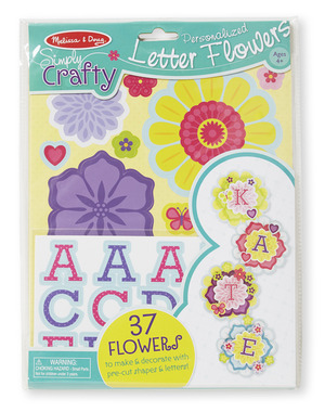 Simply Crafty - Personalized Letter Flowers