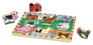 Farm Chunky Puzzle - 8 Pieces