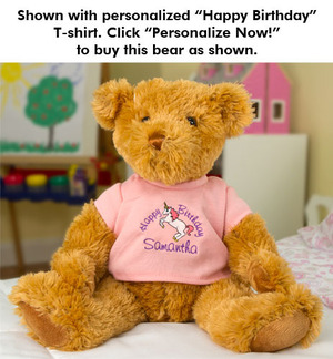 Birthday Girl Bear