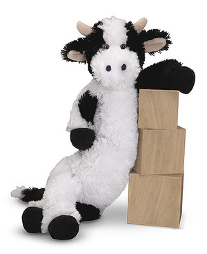 Longfellow Cow Stuffed Animal