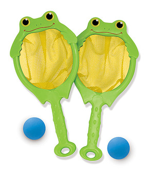 Froggy Toss & Catch Net & Ball