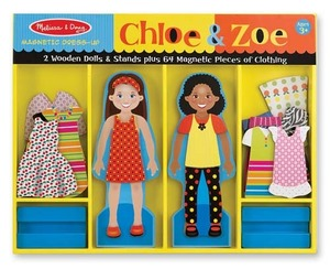 Chloe & Zoe Magnetic Dress-Up Set