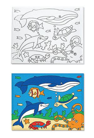 Canvas Creations - Sea Life