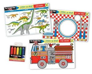 Fun Themes Placemat Learning Mats Set
