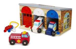 Lock & Roll Rescue Truck Garage