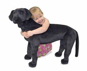 Black Lab Giant Stuffed Animal