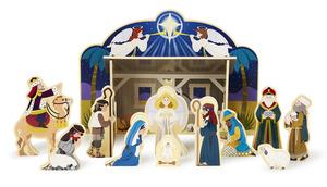 Wooden Christmas Nativity Set