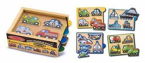 Vehicles Mini-Puzzle-Pack