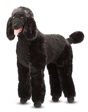 Standard Poodle Dog Giant Stuffed Animal