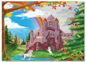 Enchanted Castle Jigsaw Puzzle - 60 Pieces