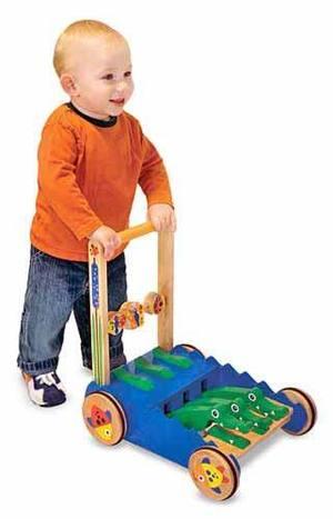 Chomp & Clack Alligator Push Toy