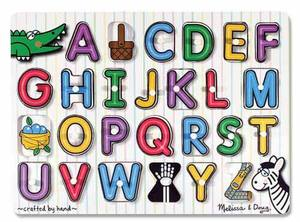 See-Inside Alphabet Peg Puzzle - 26 pieces