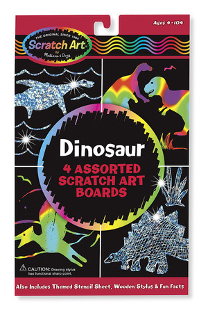 Scratch Magic® Draw & Learn® Dinosaurs